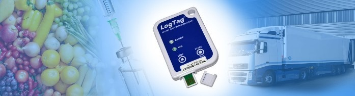 LogTag Temperaturdatenlogger Transport